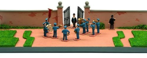 "Hergé/Tintin. Ref 46208 + ref 46227 ""Chateau de Moulinsart + Fanfare"". Edited to…"