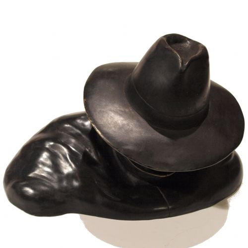 """Jacobs/Blake and Mortimer. Ref 5234 bust sculpture representing """"colonet Olrik"""" …"""