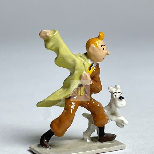 "Hergé/Tintin. Minipixi ref 2101 ""Tintin imperméable"" edited at 5700 ex around 19…"