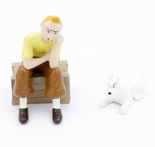 "Hergé/Tintin. Ref 46904 ""Tintin case"". From the album ""Les Cigares du pharaon"" p…"