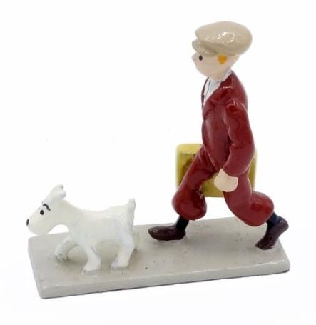 """Hergé/Tintin. Minipixi ref 2106 """"Tintin suitcase"""". Taken from the album """"L'oreil…"""