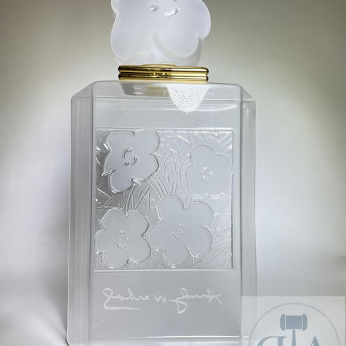 Perfume bottle by Andy Warhol dummy advertising around 1990. GOOD CONDITION. H 4…