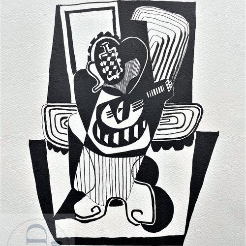 """Picasso/Lithographie """"Hélène chez Archimède planche XX"""" éditée en 1972 et n°/120…"""