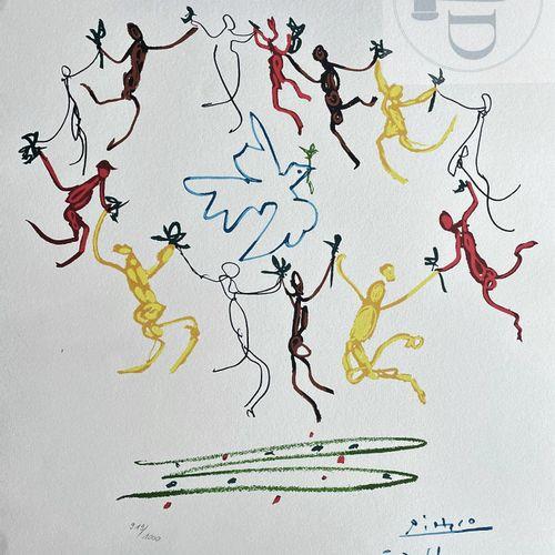 """Picasso/Lithographie """"La ronde de la jeunesse"""" éditée en 1983 et n°/1000 ex. Eta…"""