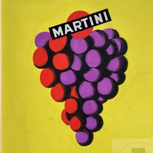 """Julian Key/Œuvre originale """"Martinti"""" réalisée pour une campagne publicitaire: """"…"""