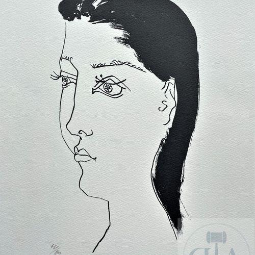 """Picasso/Lithographie """"Gongora planche XX"""" éditée en 1972 et n°/800 ex. Etat neuf…"""