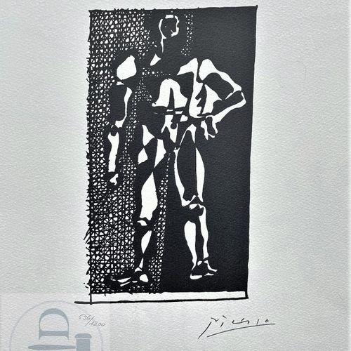 """Picasso/Lithographie """"Hélène chez Archimède planche XXI"""" éditée en 1972 et n°/12…"""