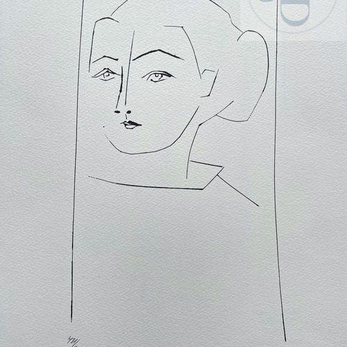 """Picasso/Lithographie """"Gongora planche XV"""" éditée en 1972 et n°/800 ex. Etat neuf…"""