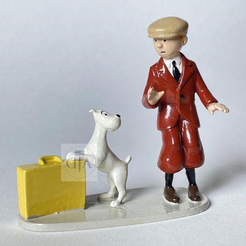 """Hergé/Tintin. Ref 4545 """"Tintin et Milou valise"""". Tiré de l'album """"L'Oreille cass…"""