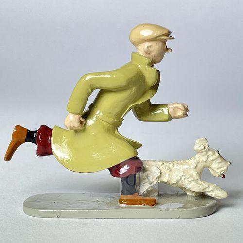 """Hergé/Tintin. Ref Pixi 4521 """"Tintin courant"""" tiré de l'album """"L'oreille cassée"""".…"""