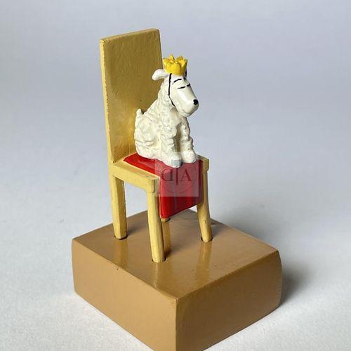 """Hergé/Tintin. Ref Pixi 4529 """"Milou sur son trône"""" tiré de l'album """"Tintin au Con…"""