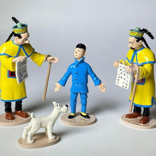 """Hergé/Tintin. Ref Pixi 46219 """"Le mandat d'arrêt"""" tirée de l'album """"Le Lotus bleu…"""