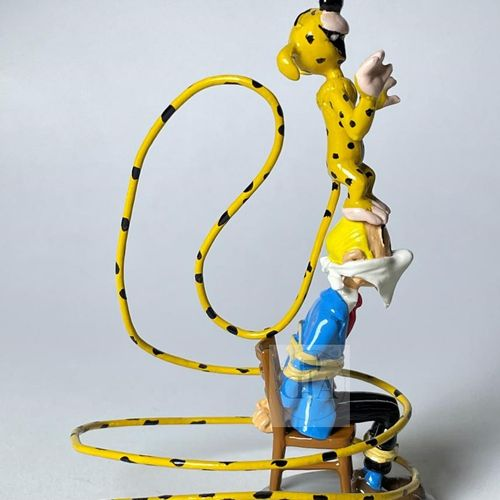 """Franquin/Spirou et Fantasio. Ref 4789+4645 """"Fantasio ligoté sur la chaise"""" + """"Ma…"""