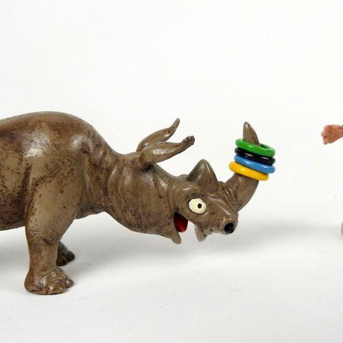 """Franquin/Gaston. Ref 4680 """"Gaston et le rhinocéros"""" édité à 650 ex en 1997. Rare…"""