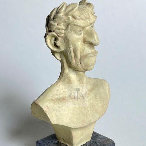 """Uderzo/Astérix. L'objet du mythe ref 6033 """"Buste de Jules César"""" édité à 440 ex …"""