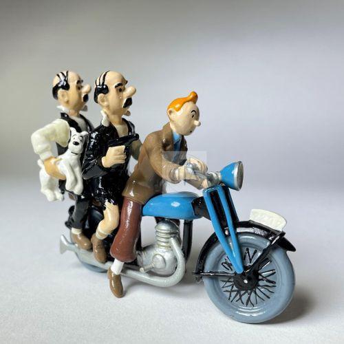 """Hergé/Tintin. Ref Pixi 46940 """"Tintin et les Dupondt sur a moto"""". Tiré de l'album…"""
