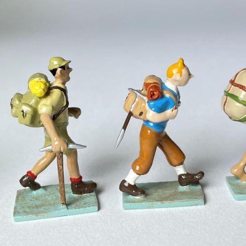 "Hergé/Tintin. Minipixi ref 46203 ""Trekking Tibet"" édité à 2000 ex vers 2004. Cer…"