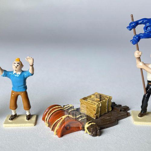 """Hergé/Tintin. Minipixi ref 46917 """"Coke en stock"""" édité à 2000 ex vers 1999. Cert…"""