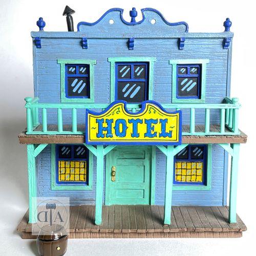 """Morris/Lucky Luke. Minipixi ville de Lucky Luke ref 35113 """"L'hôtel"""" édité à 500 …"""