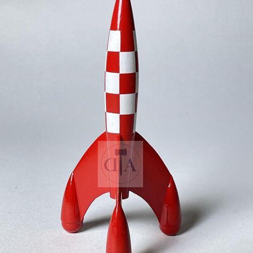 """Hergé/Tintin. L'objet du mythe Ref Pixi 5600 """"La fusée"""". Edité à 5100 ex vers 19…"""