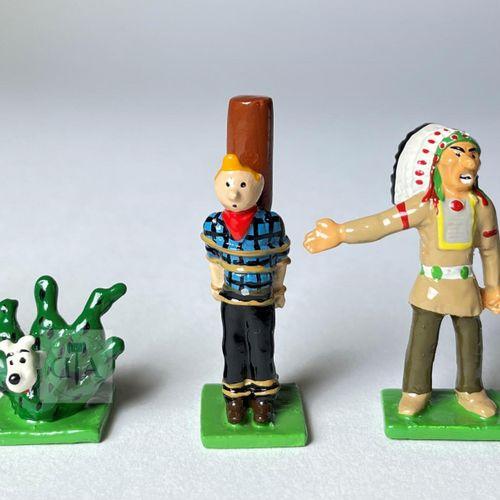 "Hergé/Tintin. Minipixi ref 46947 ""Far West"" édité à 2000 ex vers 2003. Certifica…"