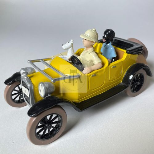"""Hergé/Tintin. Ref Pixi 4564 """"Tintin, Milou et Coco dans la Ford T"""". Tiré de l'al…"""