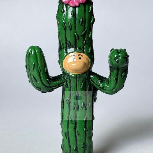 """Franquin/Gaston. Ref 4720 """"Gaston déguisé en cactus"""" édité à 750 ex en 1997. Emb…"""