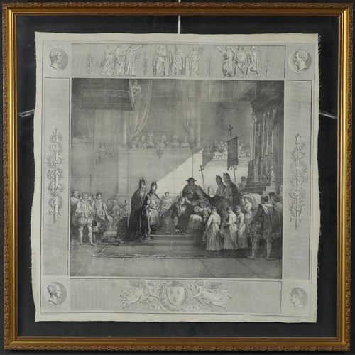 Godefroy Engelmann (1788 1839) The anointing of the coronation of King Charles X…