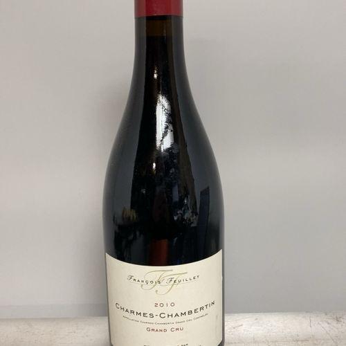 1 bouteille CHARMES CHAMBERTIN Grand cru Francois FEUILLET 2010 LOT VENDU SUR DE…