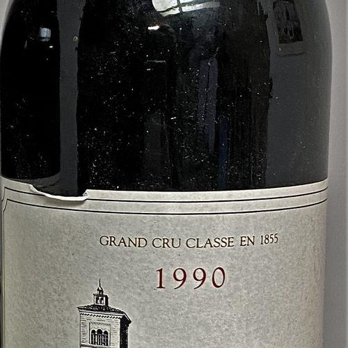1 bouteille Château LAGRANGE 3é Gcc Saint Julien, 1990 1 étiquette légèrement ab…