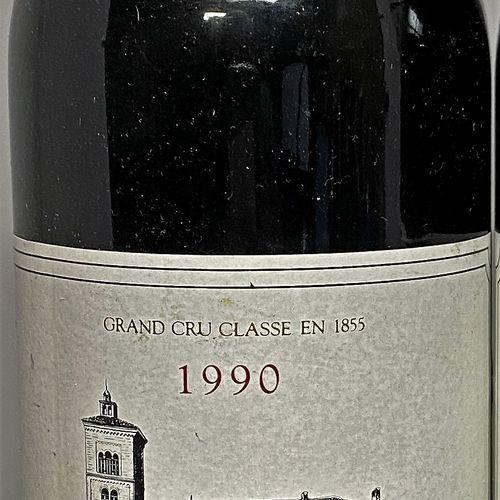 1 bouteille Château LAGRANGE 3é Gcc Saint Julien 1990. 1 étiquette légèrement ab…