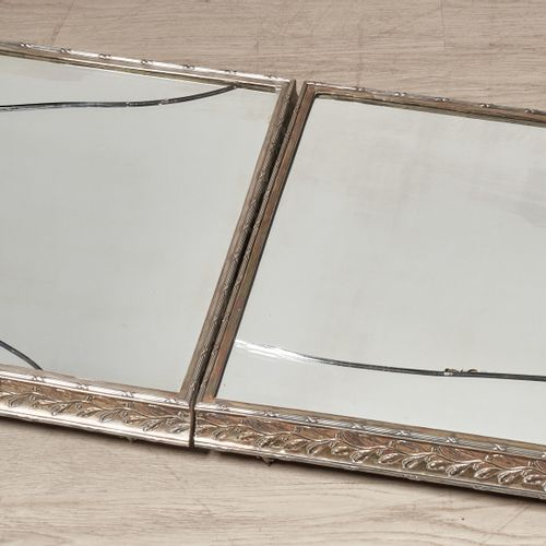 Amazing pair of bathroom mirrors that can be transformed into a double centrepie…