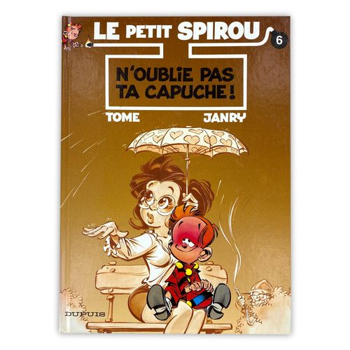 "JANRY "" Le Petit Spirou "" EO of Tome 1 ""Don't forget your hood"" enriched with a …"