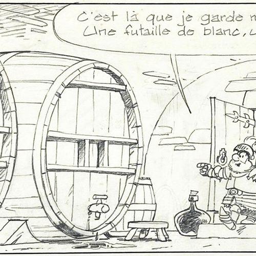 "Maury "" Johan et Pirlouit "" Original drawing  Lead pencil before inking... Super…"