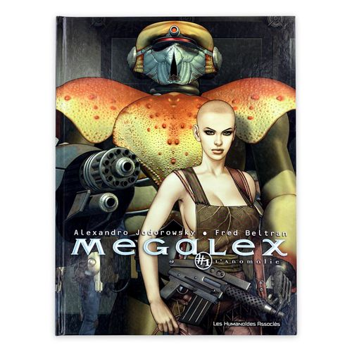 """JODOROWSKY / BELTRAN Set of 2 albums in EO in new condition  """"Megalex"""" volume 1,…"""