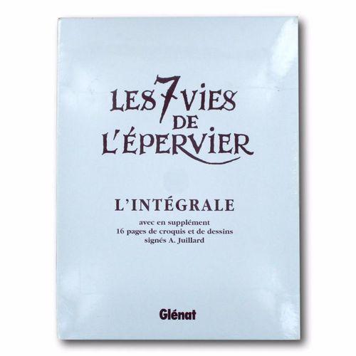 """COTHIAS / JUILLARD """"The 7 Lives of the Hawk""""  Complete set  Éditions Glénat, 199…"""