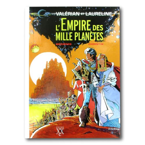 """MÉZIÈRES / CHRISTIN """" Valérian """" Deluxe edition of volume 2 """"The Empire of a Tho…"""