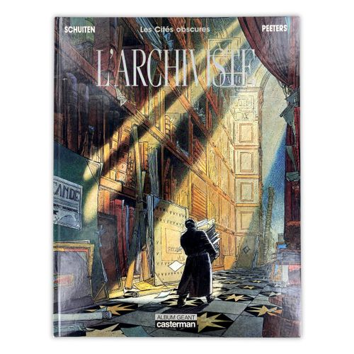 "SCHUITEN "" The Obscure Cities "" EO of the special edition "" The Archivist ""  Com…"
