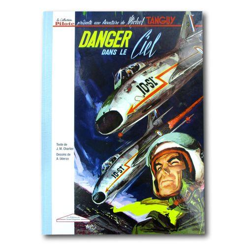 "UDERZO "" Tanguy et Laverdure "" ""Danger in the Sky"" Deluxe print of Volume 3 in n…"