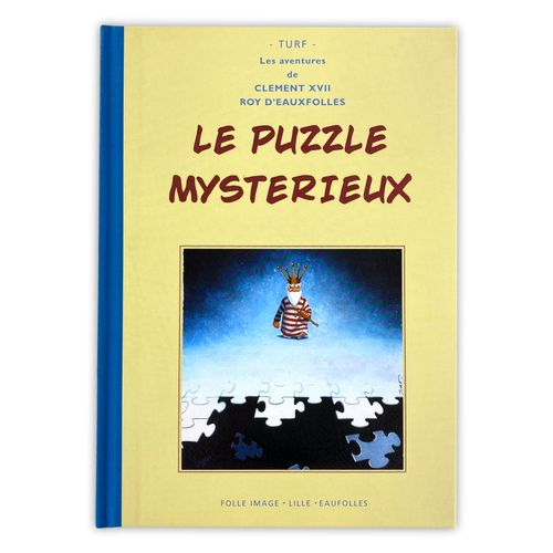 "TURF "" La nef des fous "" Boxed set of volume 5 "" Puzzle  Complete with the Delux…"