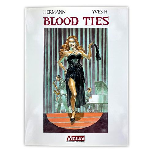 "HERMANN ""Blood Ties"" Deluxe Print  EO of the English version of the album ""Blood…"