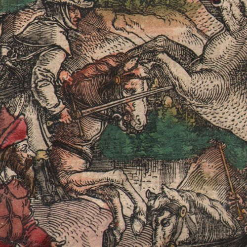 Leonhard Beck (1475 1542) Leonhard Beck Theuerdank Emperor Maximilian on a deer …