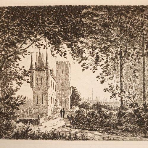 VAYSSIERE (Augustin). Bourg en Bresse et la vallée de la Reyssouze. Bourg et Lyo…