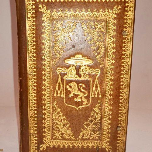 AULI PERSI Flacci Satirarum Liber... Paris, Drouart, 1615. In 8. Reliure en veau…