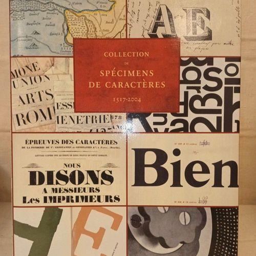 JAMMES (André et Isabelle). Collection de spécimens de caractères 1517 2004. Par…