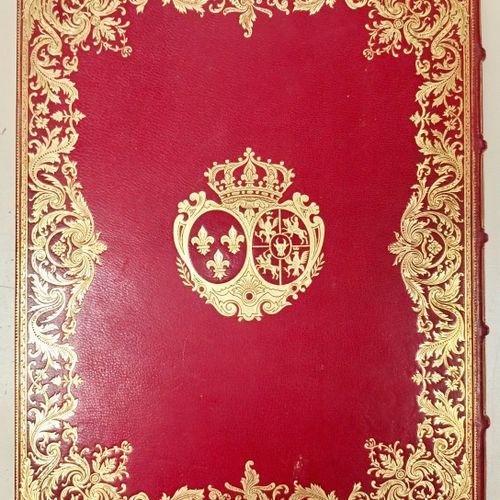 PIERRE DE NOLHAC. Louis XV et Marie LECZINSKA. Paris, Goupil, 1900. Grand in 4, …