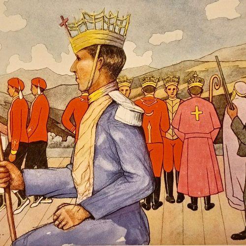 BERNOVILLE (Gaëtan) Le Pays de Basques. Types et costumes. Dessins originaux de …