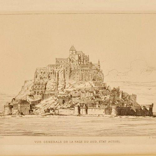 CORROYER (Edouard) Descriptions de l'Abbaye du Mont Saint Michel et de ses abord…
