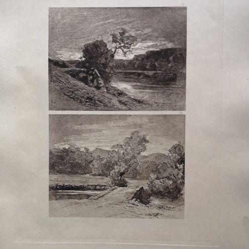 THIOLLIER (Félix) RAVIER (François Auguste). Soixante et un dessins de Ravier et…