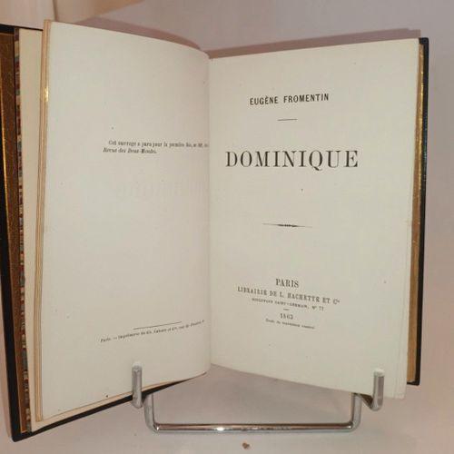 FROMENTIN (Eugène) Dominique. Paris, Hachette, 1863. In 8. Reliure de Marius Mic…